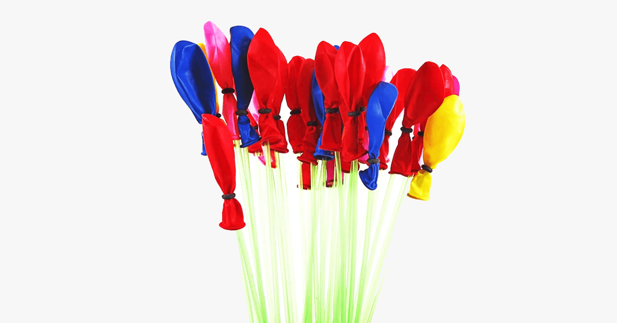 111-Piece Set: Magic Water Balloons - FREE SHIP DEALS