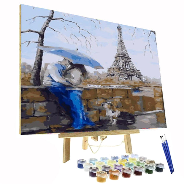 Paint By Numbers Kit - Paris Love