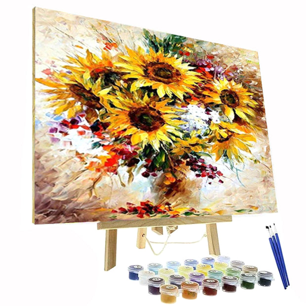 Paint By Numbers Kit - Sunflowers