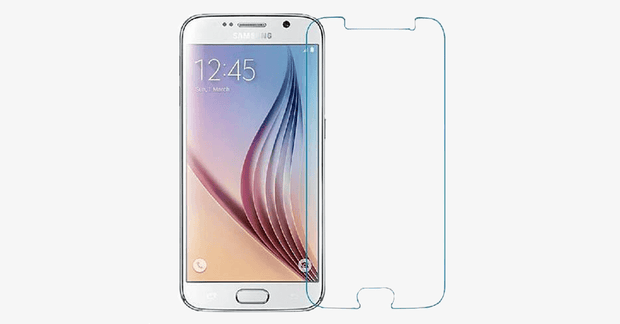 Tempered Glass Screen Cover Protector For Samsung Galaxy S6