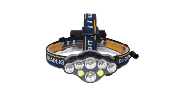 8 Led Super Bright Headlight - FREE SHIP DEALS