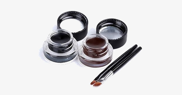 Brown & Black Gel Eyeliner - FREE SHIP DEALS
