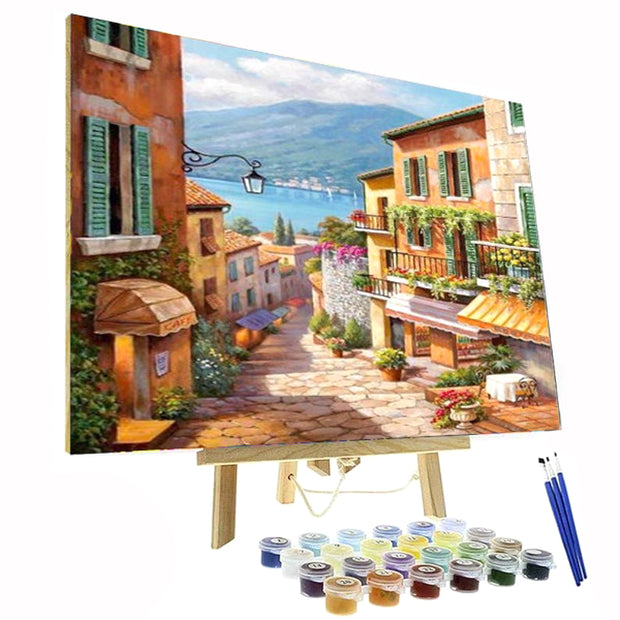 Paint By Numbers Kit - Cute Little Village