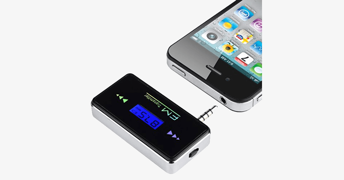 Car Stereo FM Transmitter – Play Your Favorite Music In Your Car!