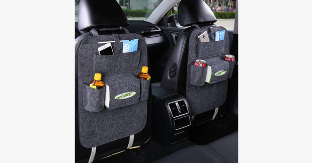 Back Seat Organizer - 3 Colors - FREE SHIP DEALS