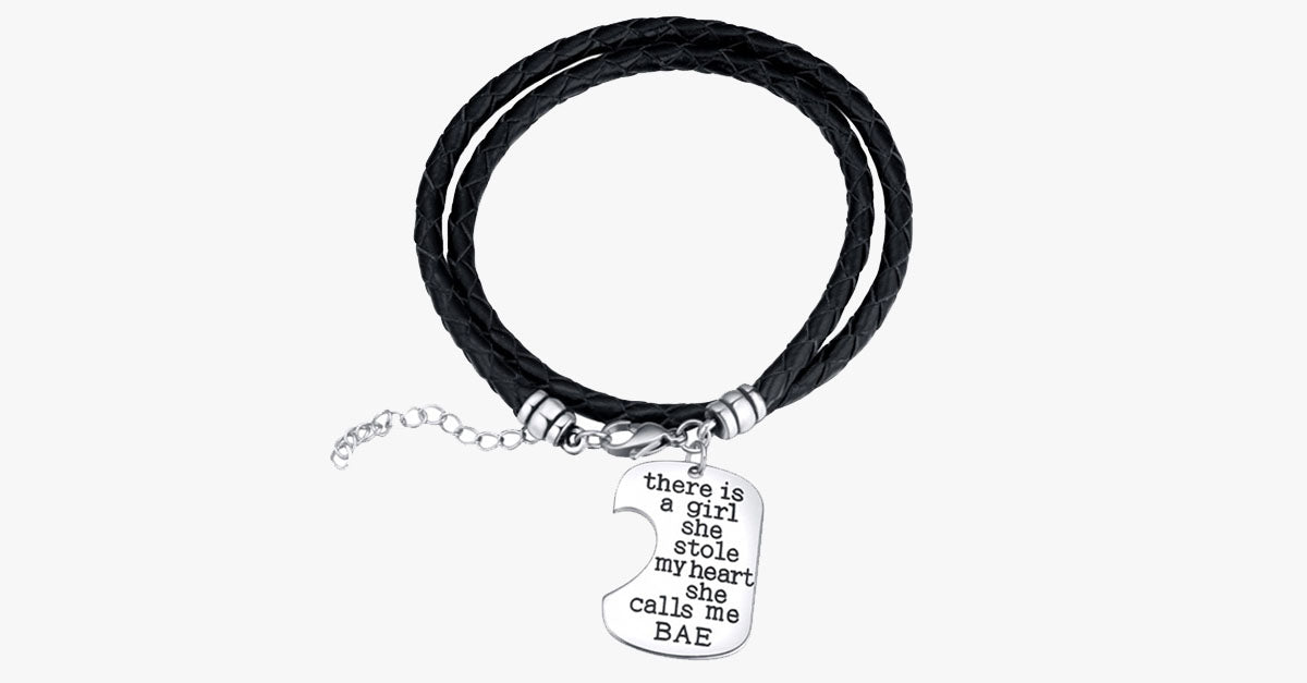 Bae Hand Stamped Bracelet Set - FREE SHIP DEALS