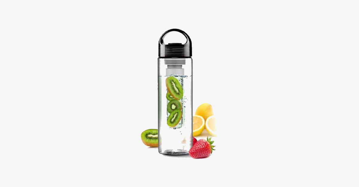 Fruit-Infuser Water Bottle - FREE SHIP DEALS