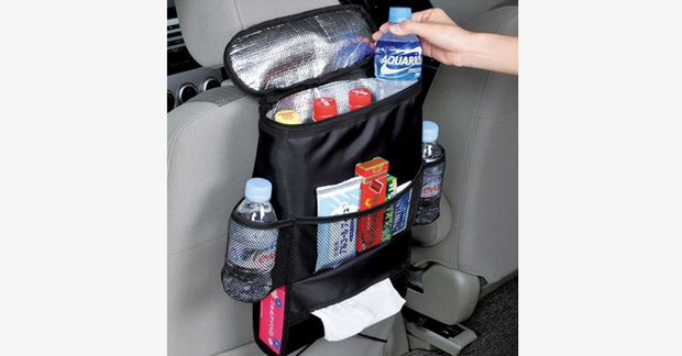 Car Seat Organizer With Cooler - FREE SHIP DEALS