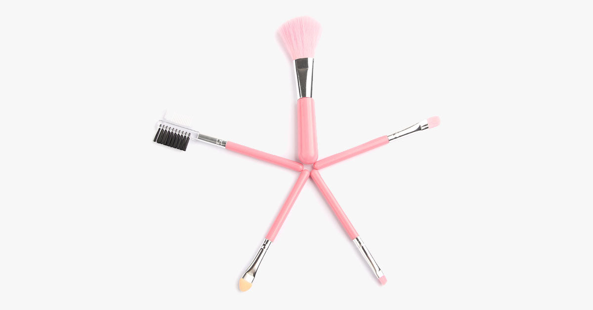 5 Piece MakeUp Travel Set - FREE SHIP DEALS