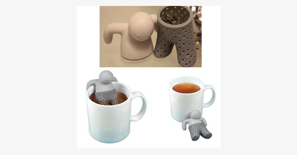 Little Man Tea Infuser - FREE SHIP DEALS