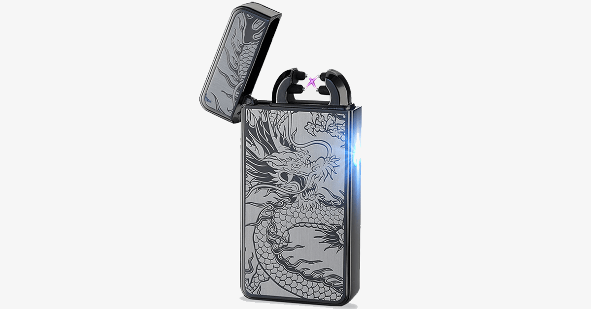 Grey Dragon Rechargeable Windproof Lighter - FREE SHIP DEALS