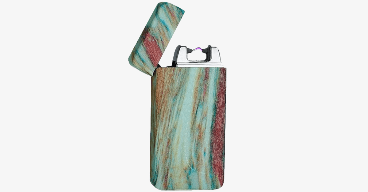 Earth Stone Rechargeable Windproof Lighter - FREE SHIP DEALS