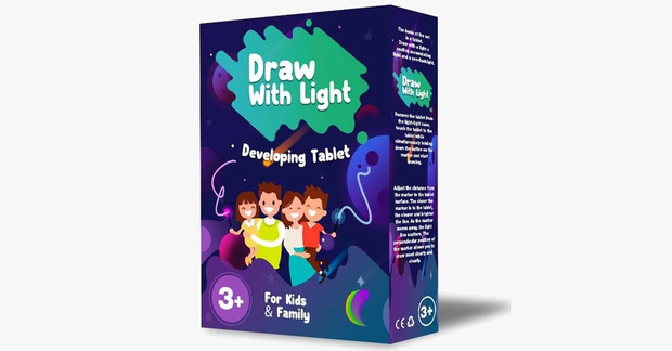 Draw With Light - For hours of fun for your kids!