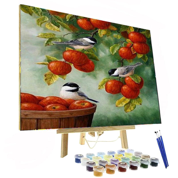 Paint By Numbers Kit - Apple Tree
