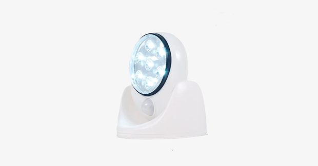 7-LED Motion-Activated Light - Assorted Colors - FREE SHIP DEALS