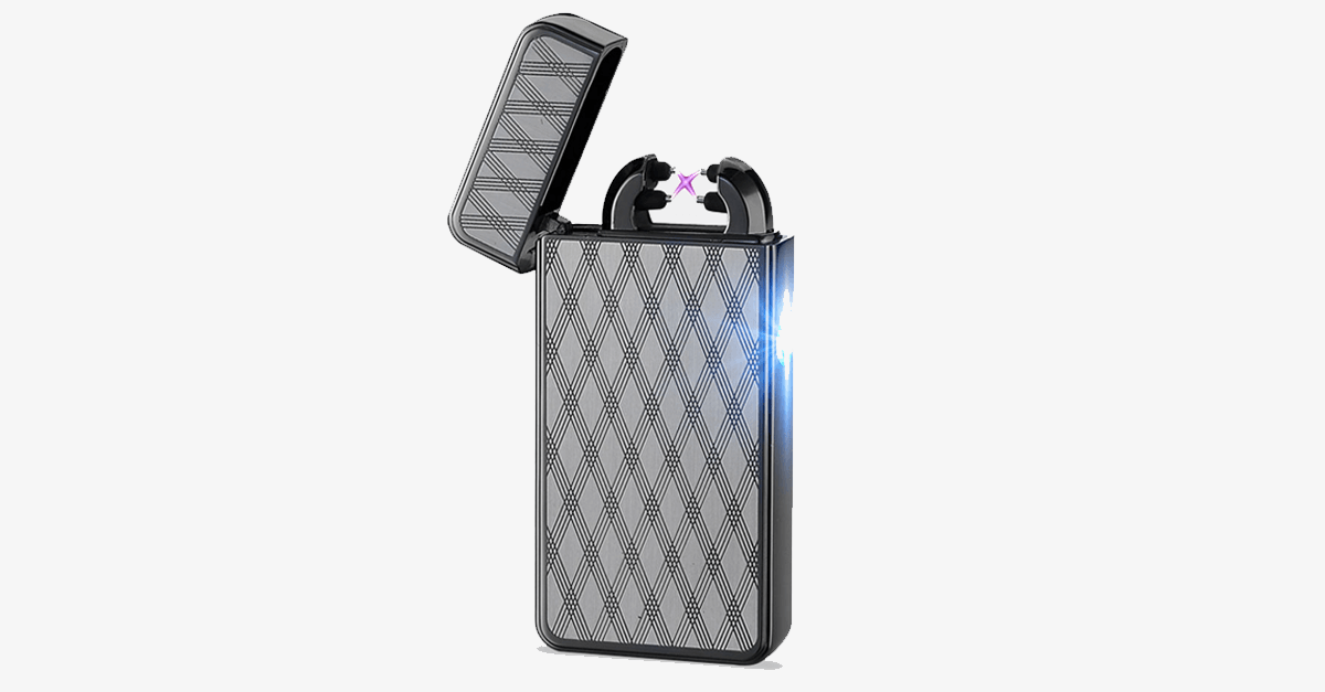 Black Night Rechargeable Windproof Lighter - FREE SHIP DEALS