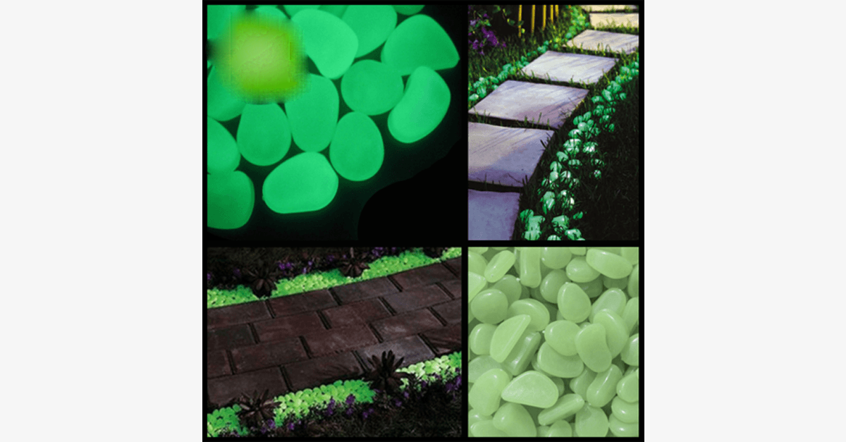 Glowing Garden Pebbles – Decorate and Light Up Your Garden Pathway!
