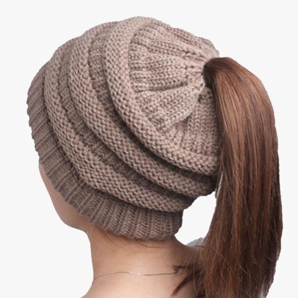 Pack of 3 Pretty Ponytail Hats - FREE SHIP DEALS