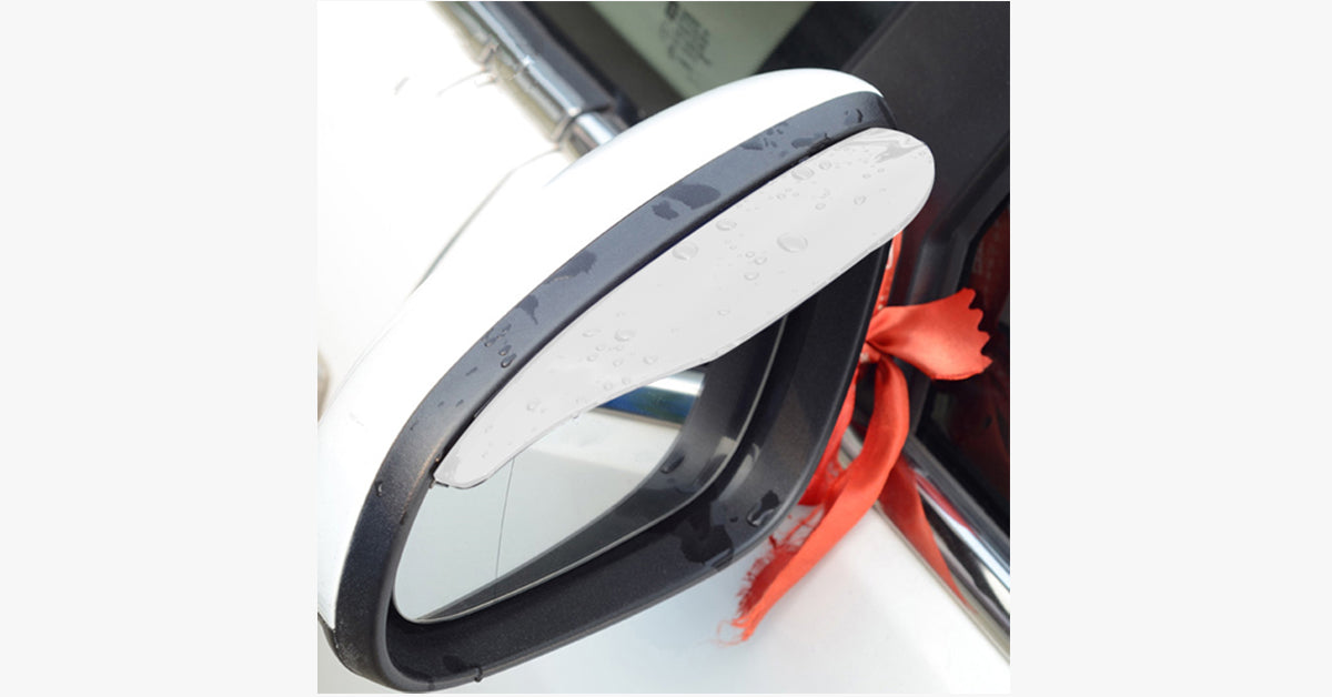 Car Rear View Mirror Rain Shade - FREE SHIP DEALS