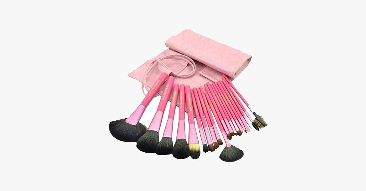 20 Pcs Salmon Brush Set - FREE SHIP DEALS