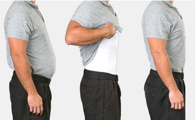 Men's Body Slimming Under-Shirt