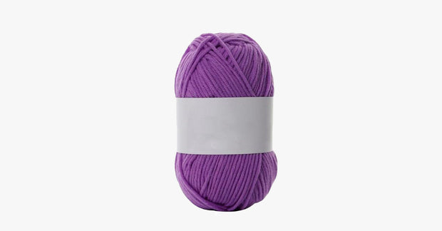 Milk Cotton Knitting Yarn - 2 Pack
