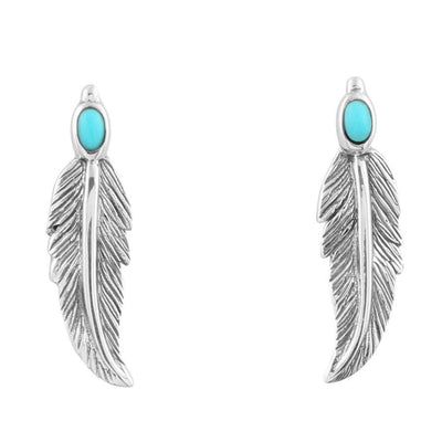 Feather Earpins
