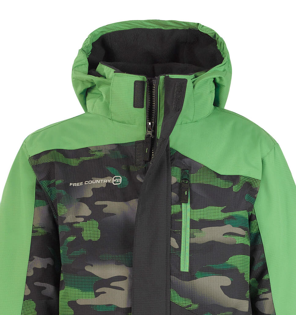 Boys' Race Snowboard Jacket