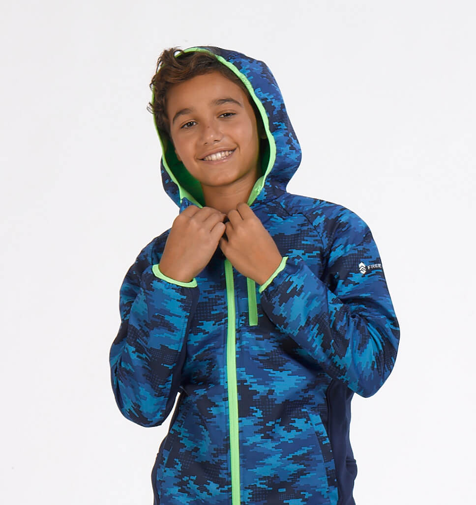 Boys' Vertex Softshell Jacket