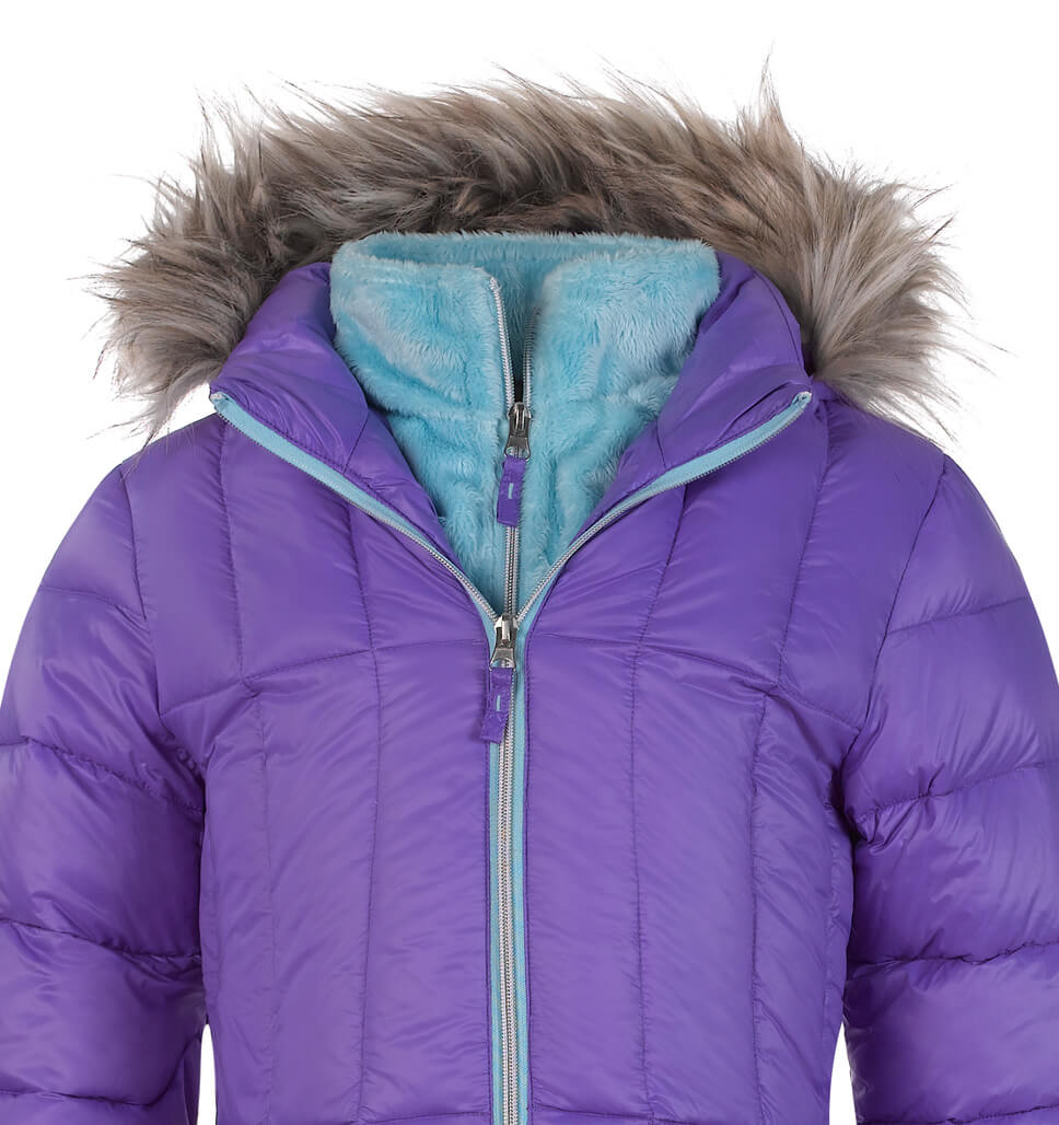 Girls' Spacer Down Jacket