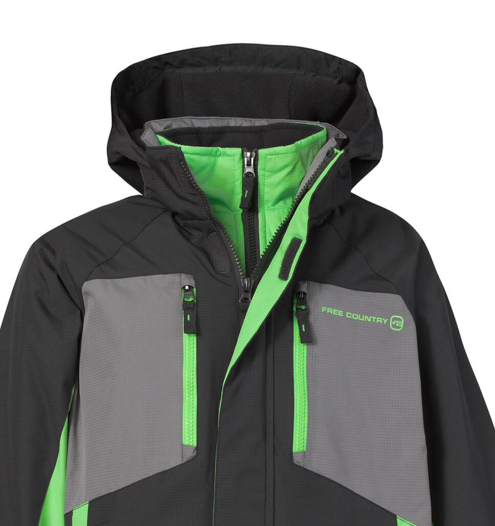 Little Boys' Soleil Snowboard Jacket