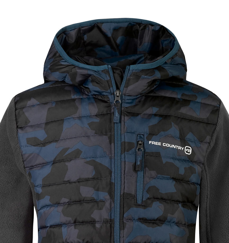 Little Boys' Sprint Hybrid Down Jacket