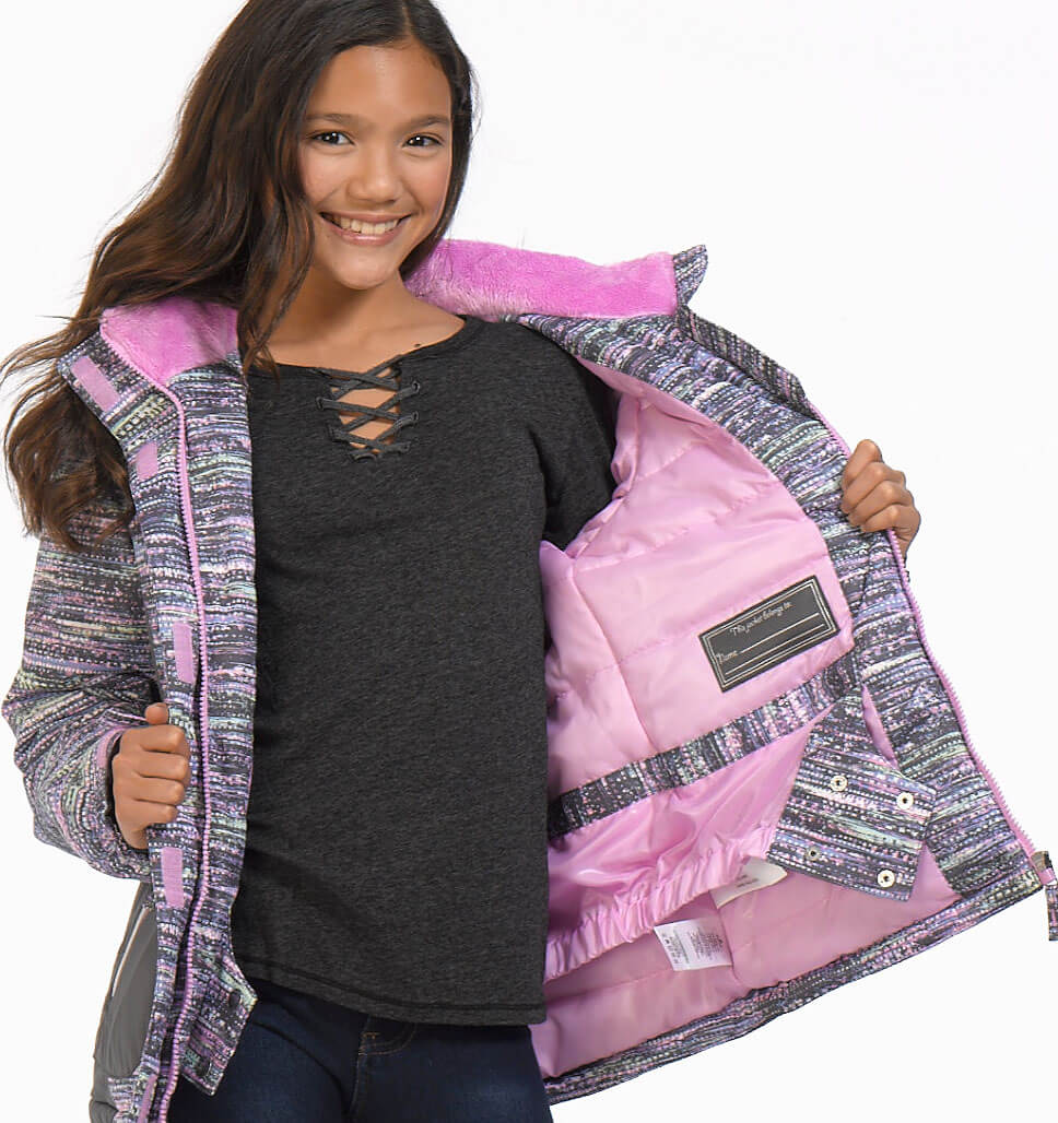 Little Girls' Snowstar Boarder Jacket