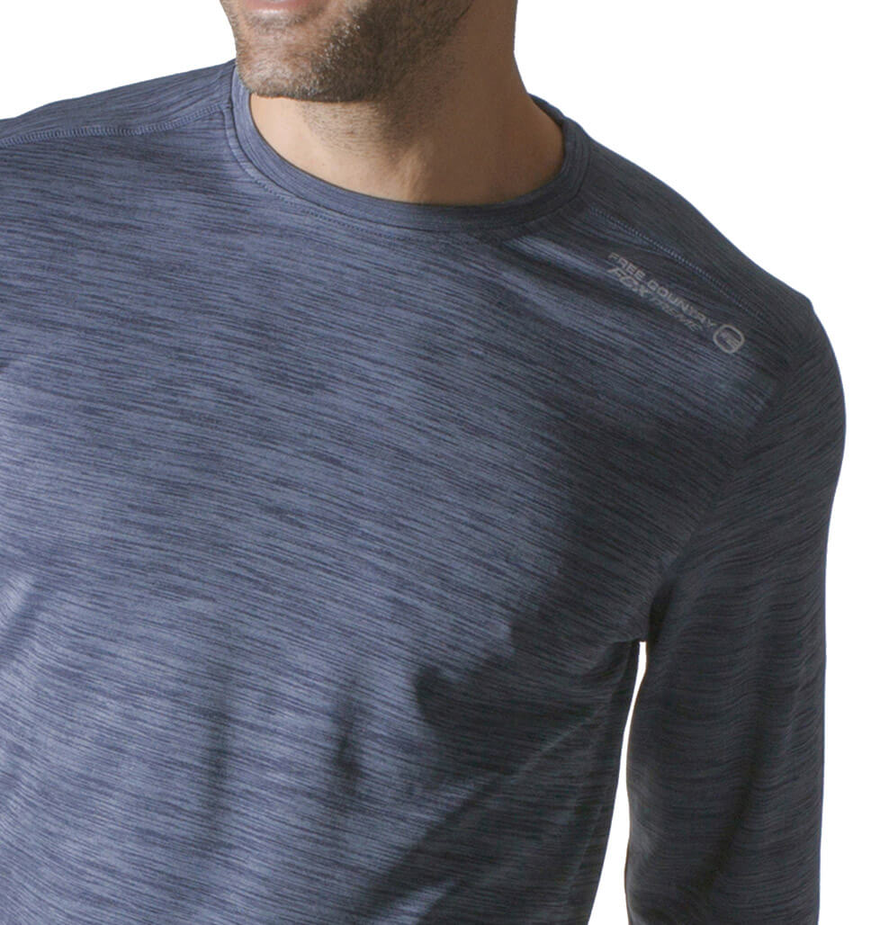 Men's Contour Heather Crew Shirt