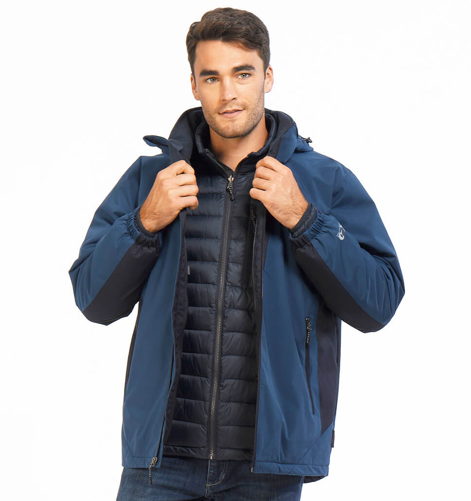 Men's Descent Waterproof 3-in-1 Systems Jacket