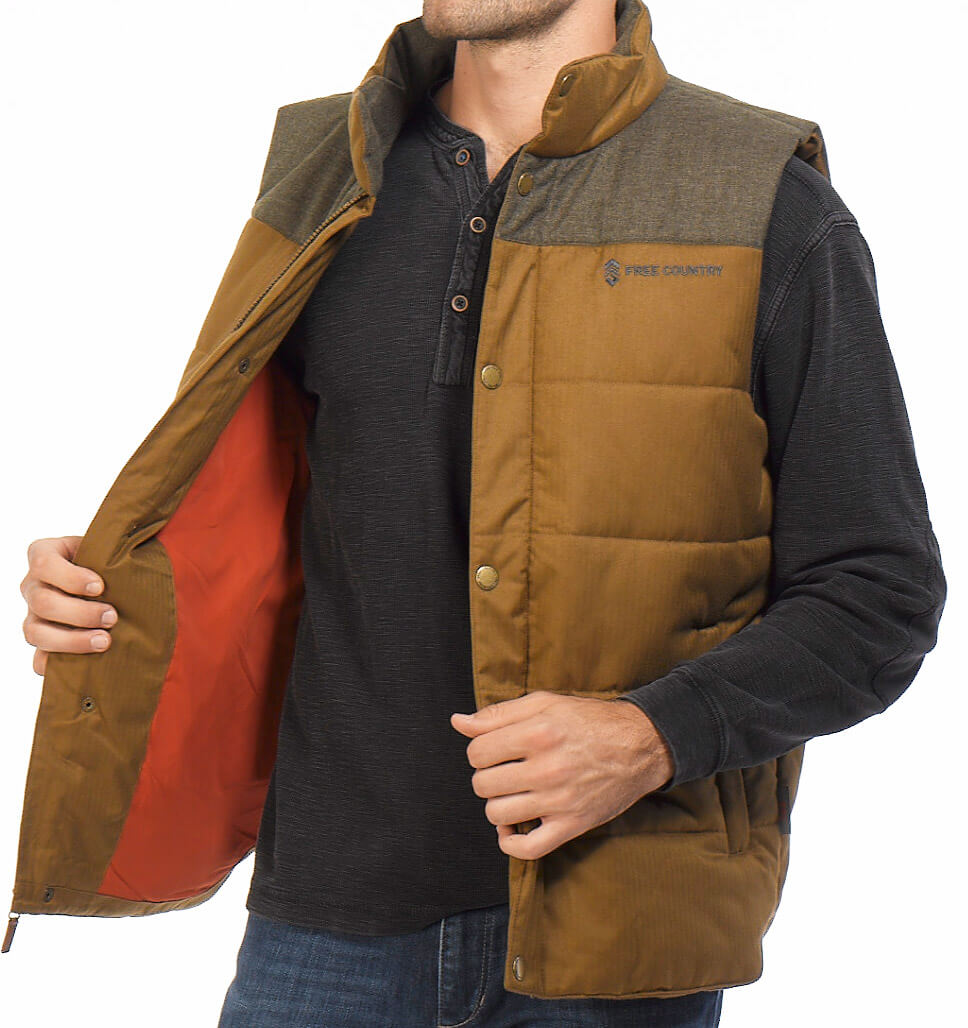 Men's Grizzly Quilted Vest