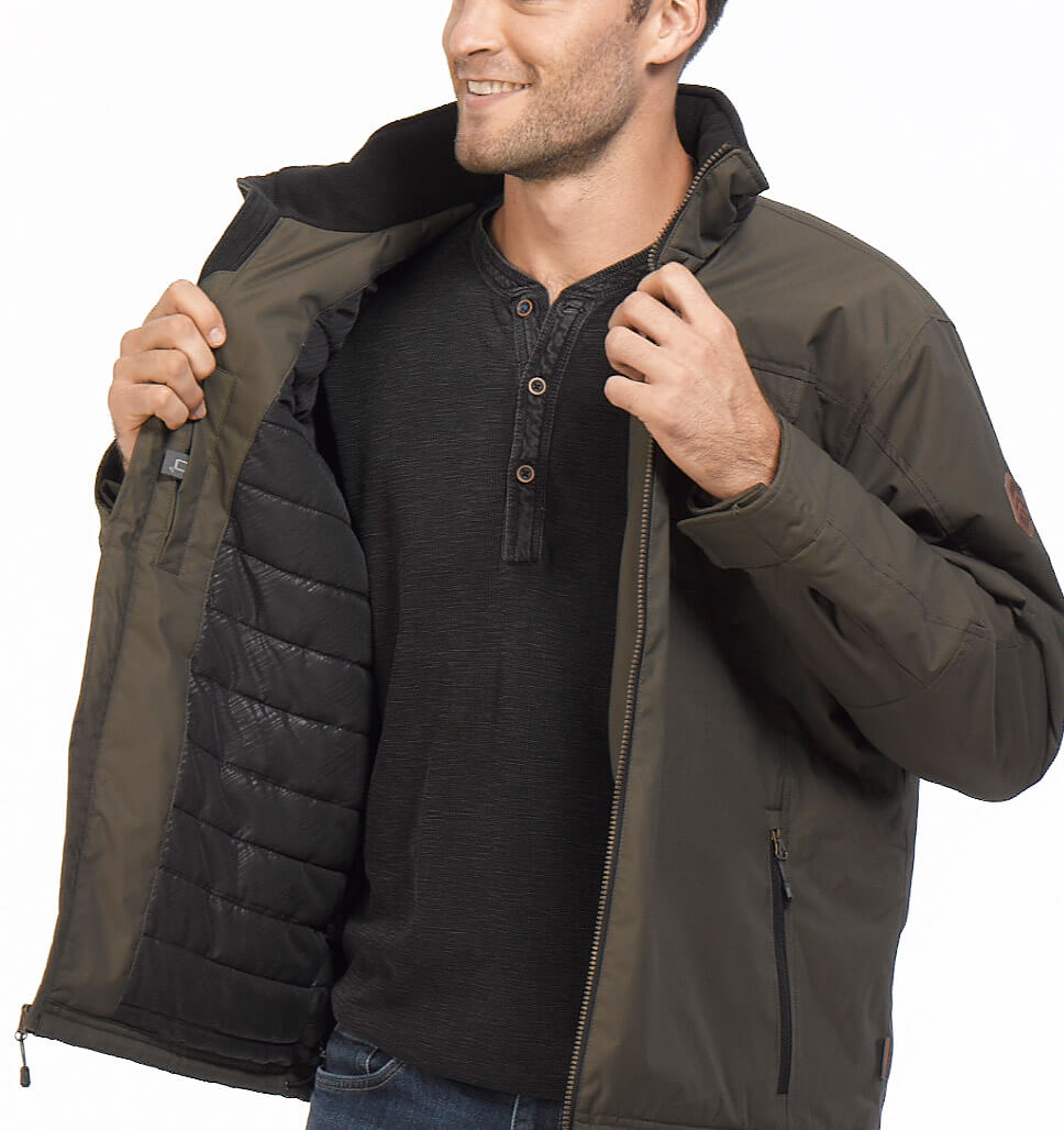 Men's Stone Creek Poly Canvas Jacket