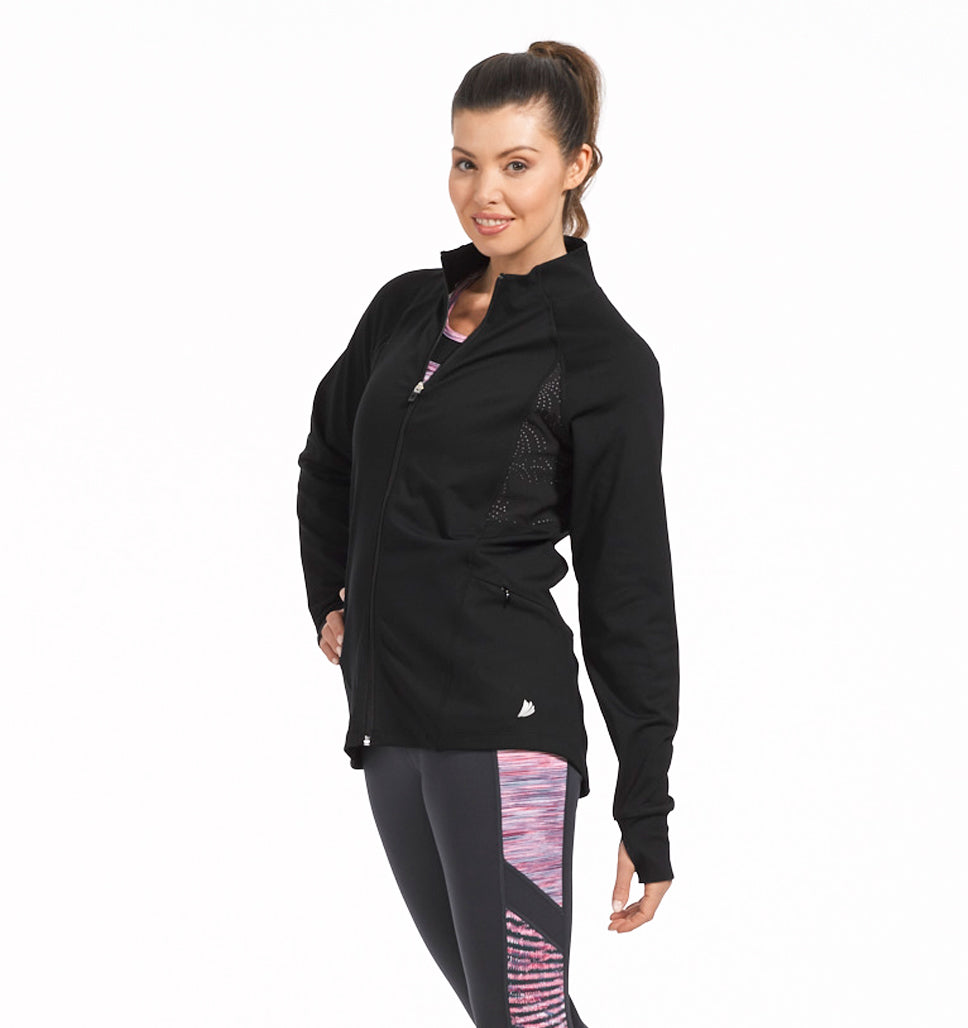 Free Country Women's B Ventilated Jacket - Black - S