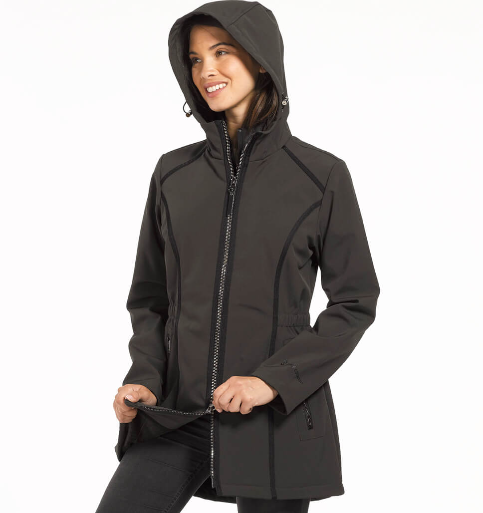 Women's Petite Saunter Softshell Jacket