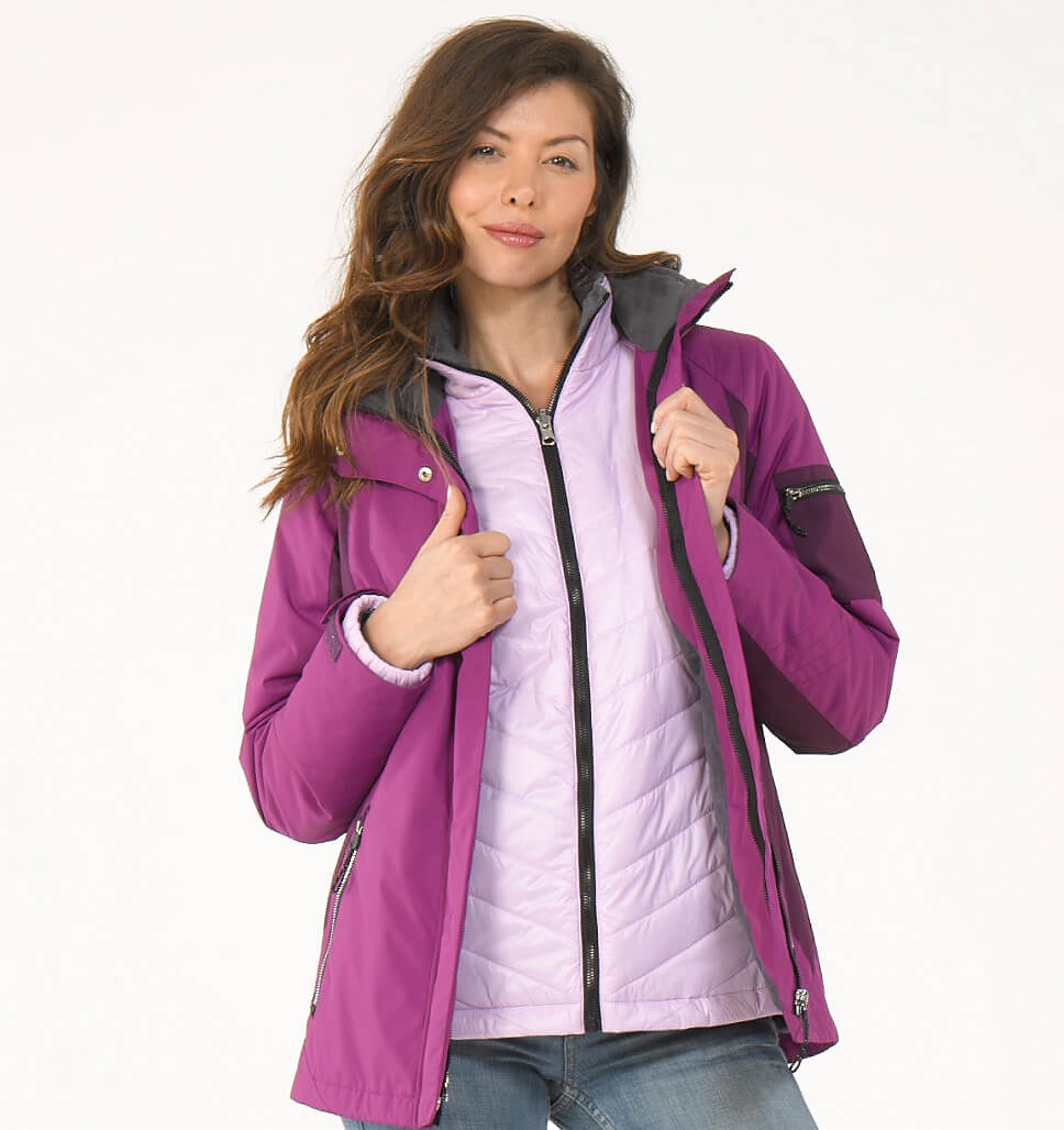 Women's Snowridge 3-in-1 Systems Jacket