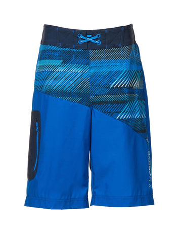 Free Country Boys' Breakline Board Shorts - Big Blue - 14/16