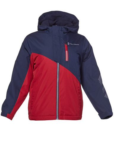 Free Country Boys' Freestyle 3-in-1 Systems Jacket - Etched Red - S