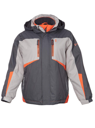 Free Country Boys' Glacial Boarder Jacket - Charcoal - S