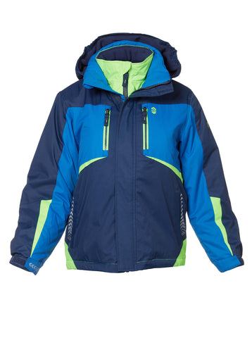 Free Country Boys' Glacial Boarder Jacket - Navy - S