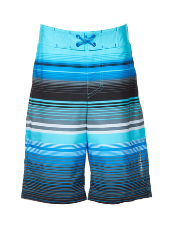 Free Country Boys' Ripple Effect HydroFlx Board Shorts - Aquatopia - S
