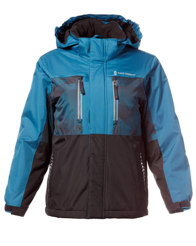 Free Country Boys' Shredder Rip Stop Boarder Jacket - Teal - S