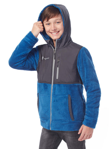 Boys' Terrain Venture Pile Fleece Jacket