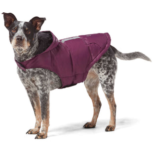 Free Country Dog Down Reversible Jacket - Plum-Black - XS