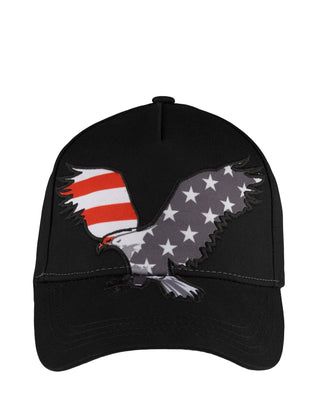 Free Country Free Country Eagle Baseball Hat - Black - O/S