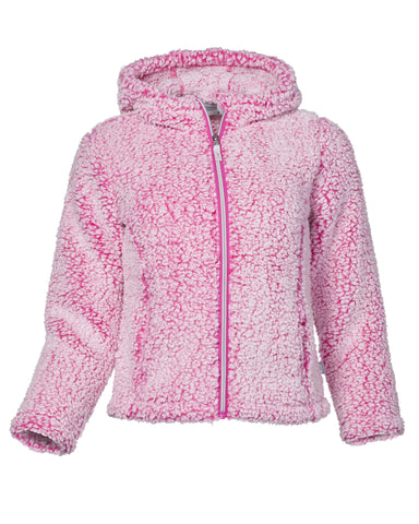 Free Country Girls' Frosty Pile Jacket - Magenta - S